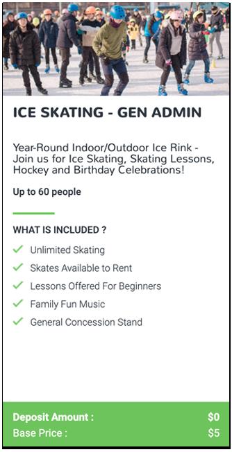 Ice Skating General Admission