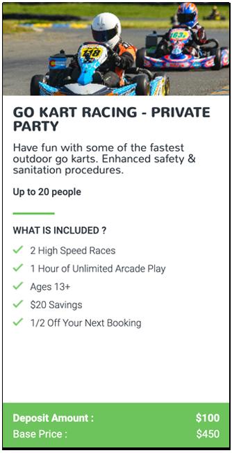 Go Kart Racing Event